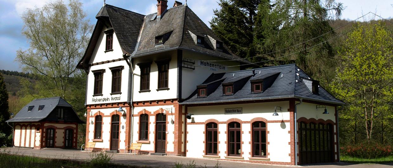 Bahnhof Hohenstein